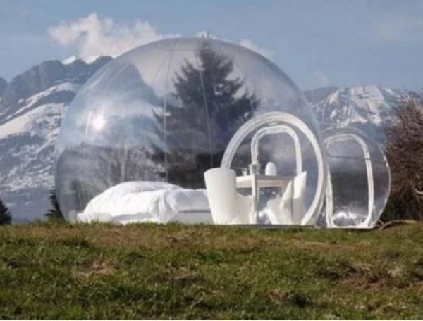 The Crystal Bubble Tent