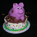 Top 10 Funny and Creative Pigs in mud Cakes