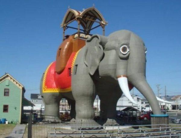 Building That Looks Like an Elephant