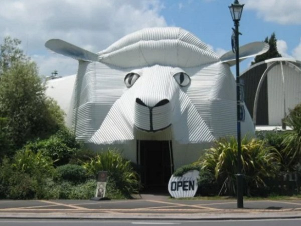 Building That Looks Like a sheep