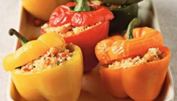 Couscous-Stuffed Peppers