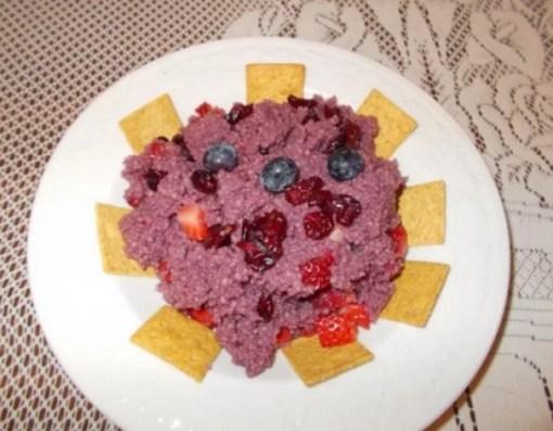 Fruit and Pomegranate juice Couscous