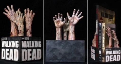 Walking Dead Inspired bookends