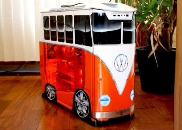 Volkswagen Campervan styled PC case