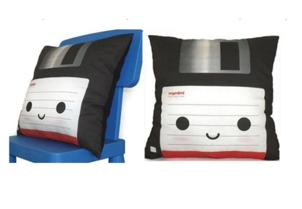 Deluxe Floppy Disk Pillow