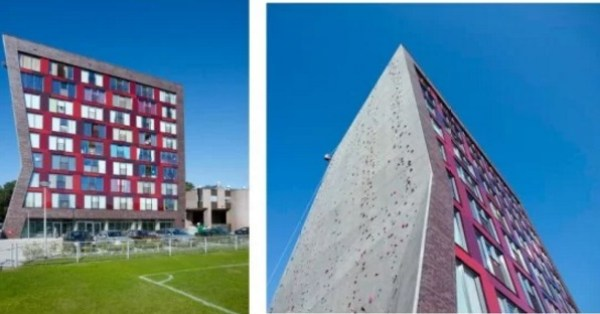 University of Twente Rock Climbing Wall
