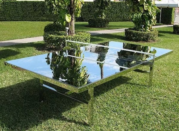 Mirror table tennis game