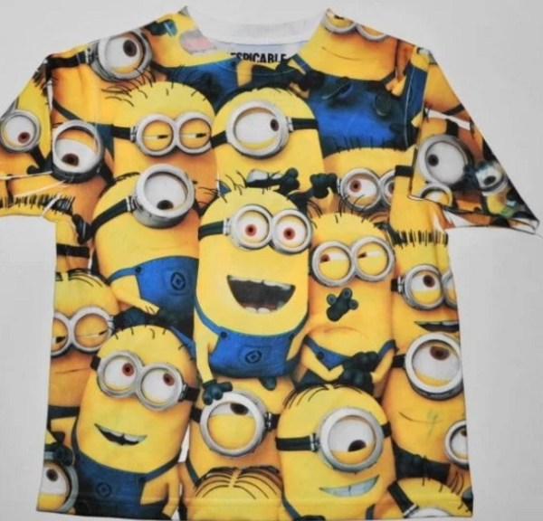 Despicable Me: Minions inspired t-shirt