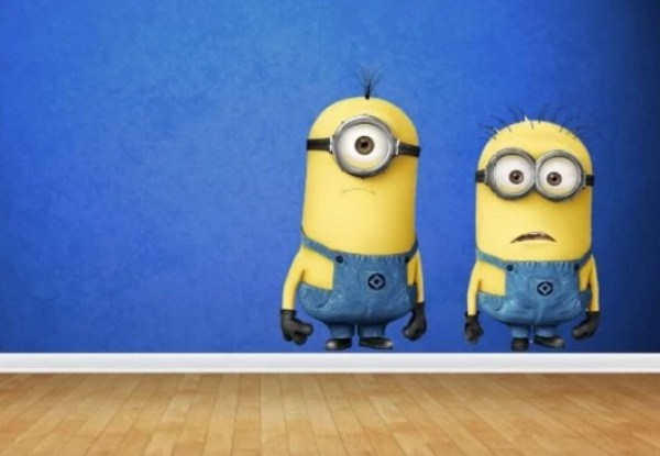Despicable Me: Minions inspired Wall Stickers