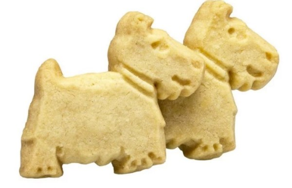 shortbread that look like dogs