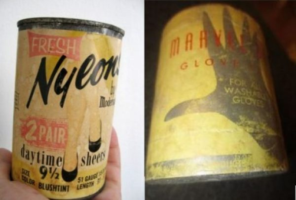 Nylons in a can