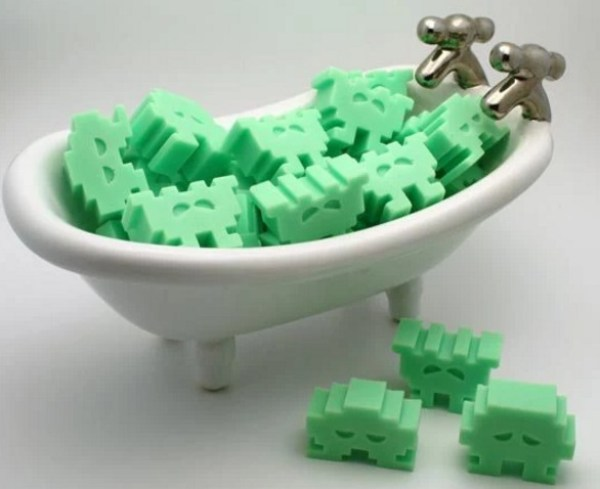 Space Invaders Soap