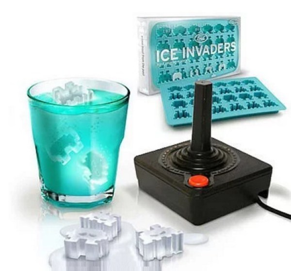 Space Invaders Ice-Cubes