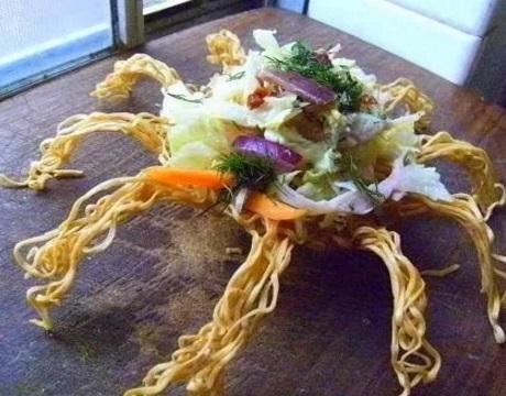 Noddle crab-shaped bowl
