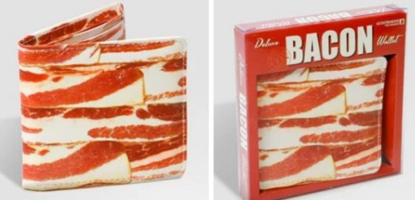 Bacon inspired wallet