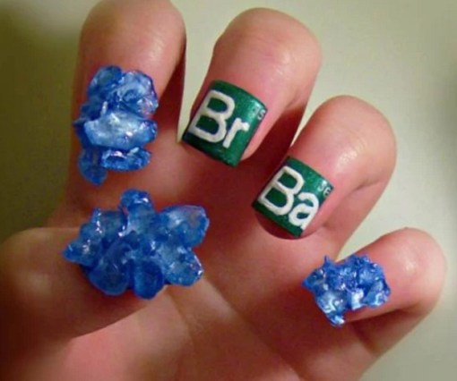 Breaking Bad Nail Art