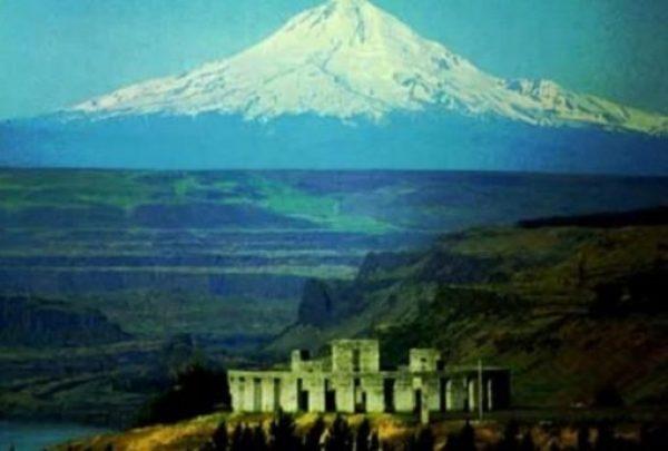 Exact replica of Stonehenge