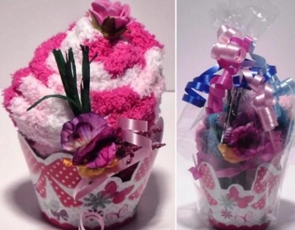 Cupcake Inspired Sock Gift Set