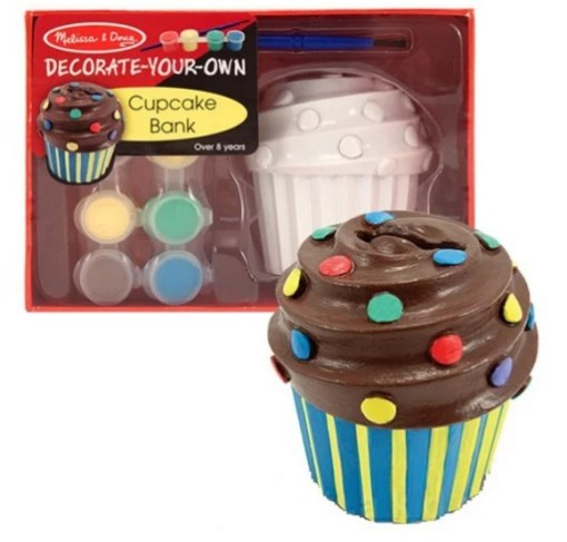 Cupcake Inspired Money Box