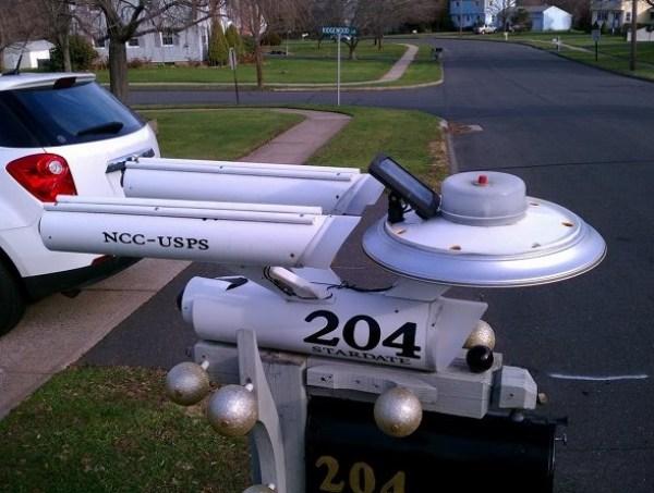 Ten Things That Look Like the USS Enterprise from StarTrek