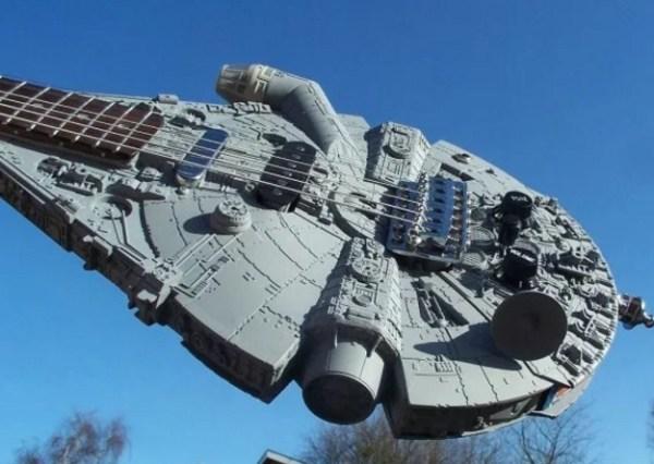 Millennium Falcon Custom Made Guitar
