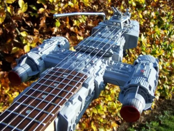Anakin Fighter Custom Made Guitar