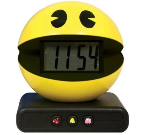 Pac-Man Alarm Clock
