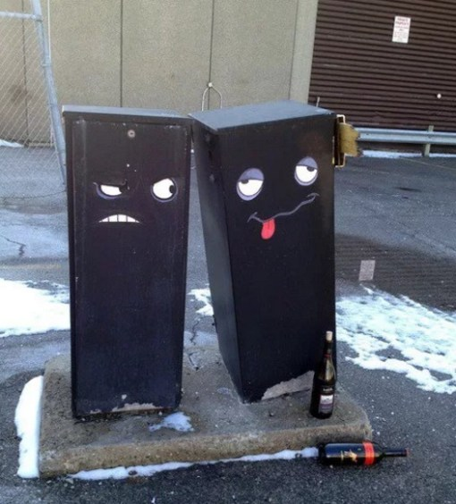 Cartoon inspired street art by Aiden Glynn