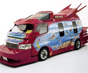 Top 10 Unusual and Amazing Modified Vans