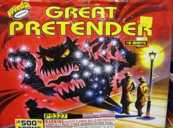 The Great Pretender Firework