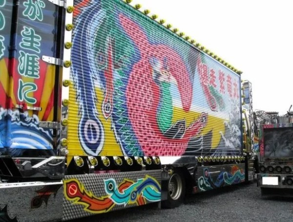 Japanese Dekotora Light Truck