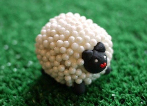 Sheep Inspired Cake Pops