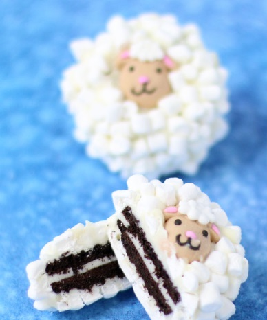 Sheep Inspired Cookies