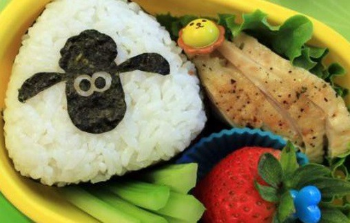 Sheep Inspired Bento Box