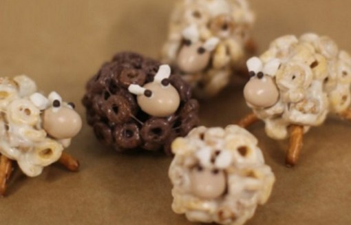 Sheep Inspired Cheerios