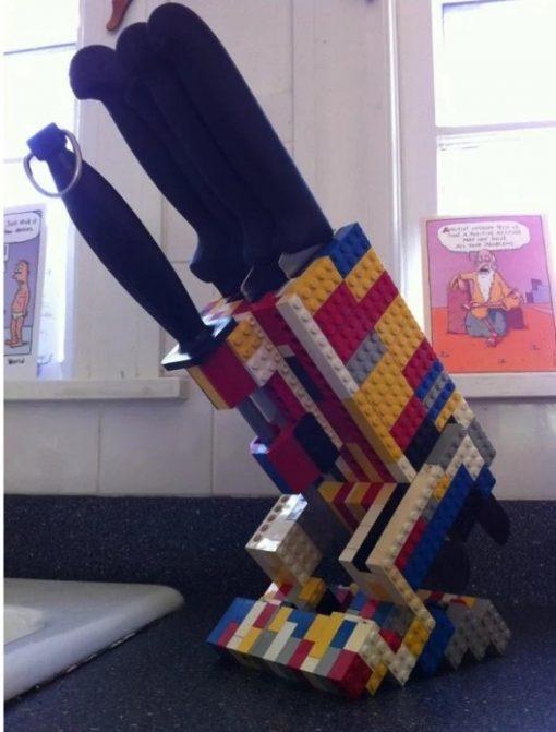 Lego Knife Block