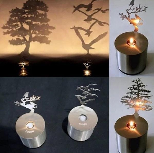 Lumen Oil Candle Shadow Projectors