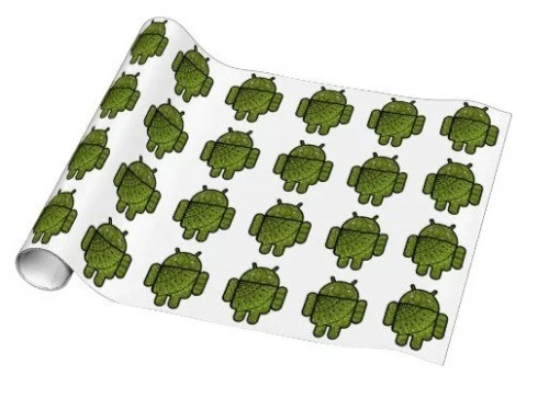 Android Gift Wrapping Paper
