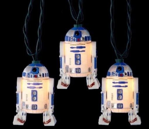 StarWars R2-D2 Christmas String Lights