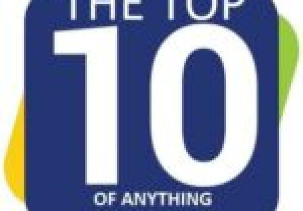 Tom Deininger Christmas Tree Made From CD's