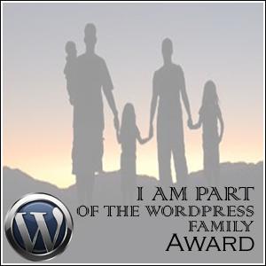 Wordpress Family Award