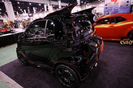 Smart Car Inspired by Batman