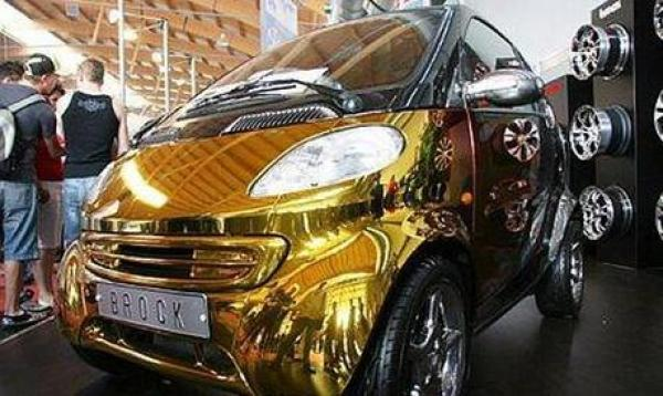 Smart Cars Inspired Gold