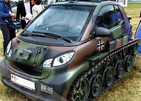 Smart Car Inspired Tank