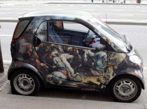 Smart Car Inspired Art