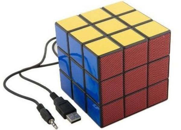 Rubik's Cube Inspired Speaker