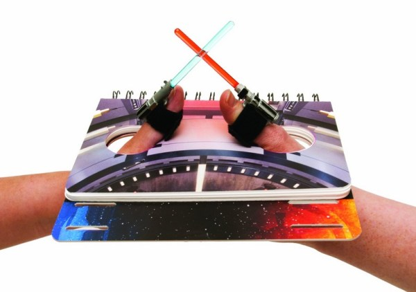 Turn Fingers Into Lightsabers