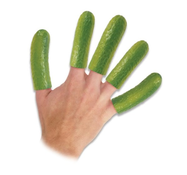 Turn Fingers Into Pickles