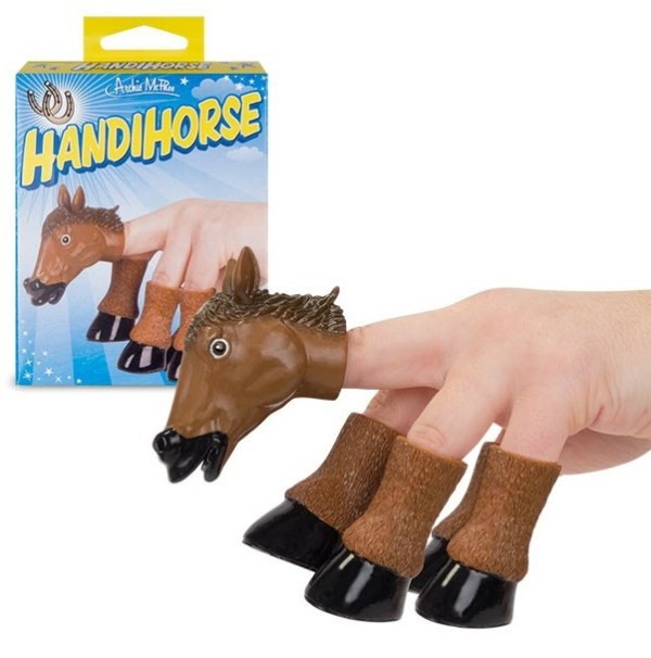 Turn Fingers Into a Horse