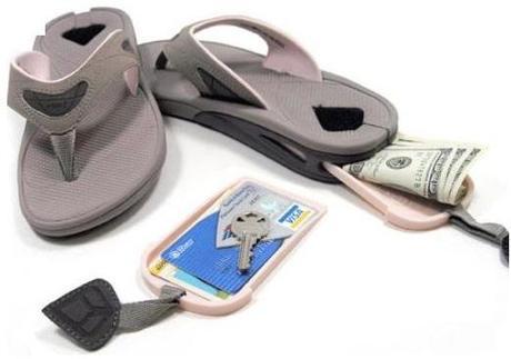 Secret Stash Inspired Flip Flops